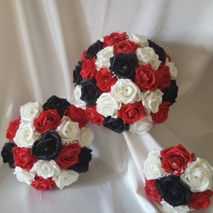 black-red-artificial-wedding-package