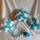 turquoise-white-brooch-wedding-flowers