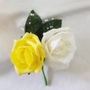 yellow-ivory-double-buttonhole