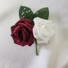 burgundy-and-white-rose-double-buttonhole