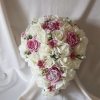 vintage-rose-gypsophila-brides-bouquet