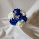 flower-girl-posy-royal-blue