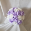 artificial-bridesmaid-bouquet-lilac