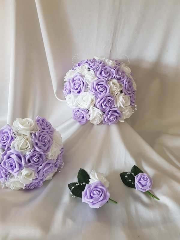 artificial-wedding-flower-lilac