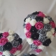 hot-pink-silver-wedding-flowers
