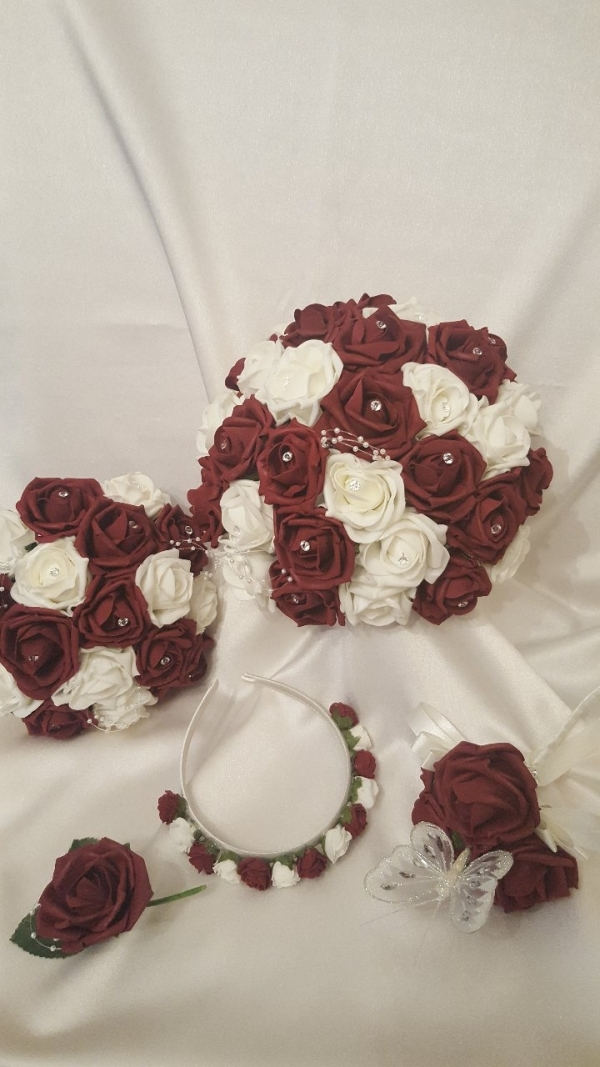 burgundy-ivory-wedding-collection