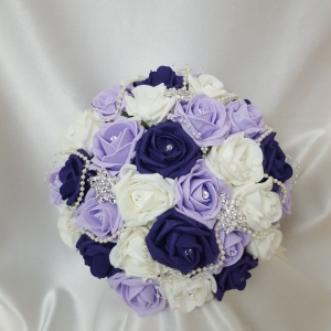 cadbury-purple-lilac-brooch-bouquet