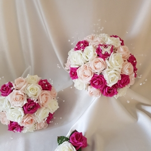 fuschia-pink-butterfly-wedding-flowers