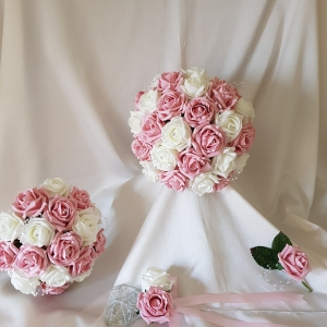 pink-ivory-wedding-flowers