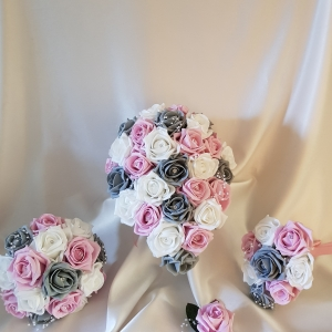 pink-grey-wedding-flowers