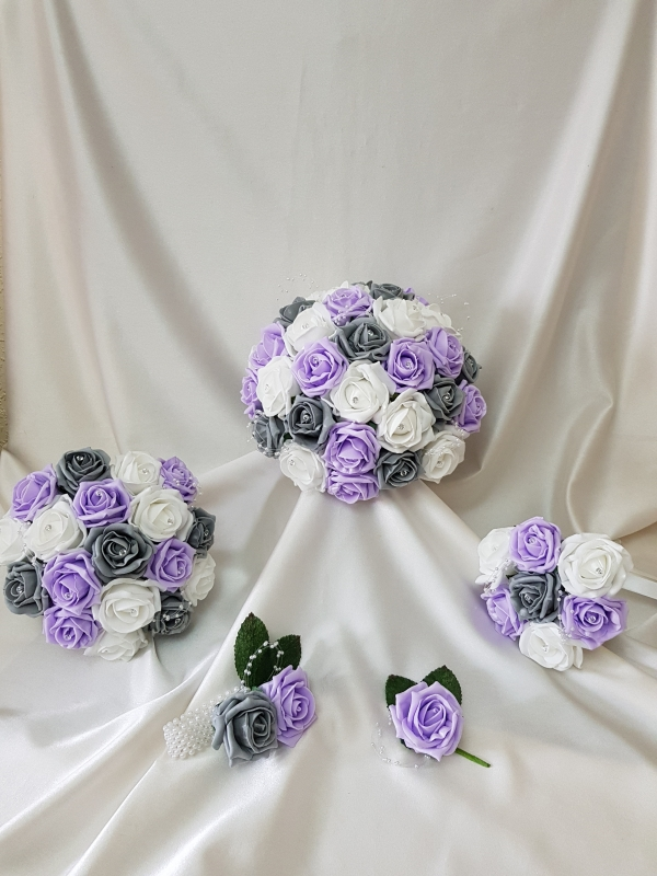 lilac-grey-wedding-flowers