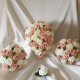 vintage-peach-foliage-wedding-flowers