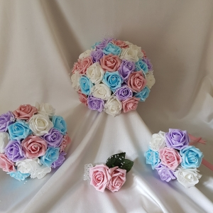 pink-aqua-lilac-wedding-flowers