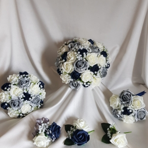 silver-navy-ivory-gypsophila-wedding-flowers