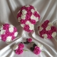fuschia-ivory-wedding-flowers
