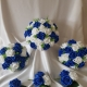 royal-blue-white-foliage-wedding-flowers