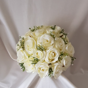 silk-rose-gypsophila-brides-bouquet