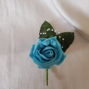 turquoise-buttonhole
