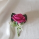 hot-pink-gypsophila-buttonhole
