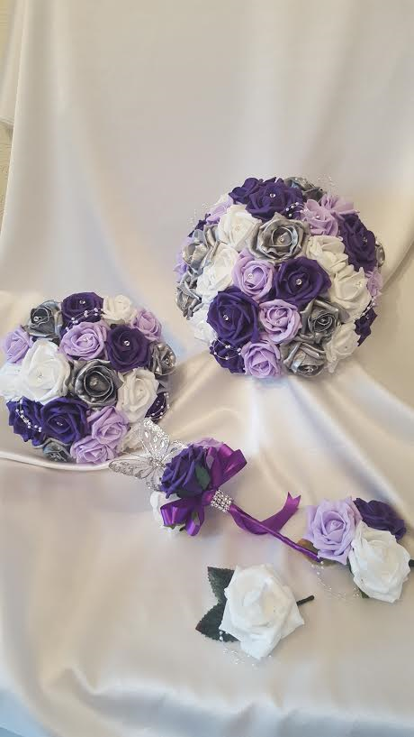 silver-purple-lilac-wedding-flowers