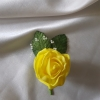 yellow-rose-buttonhole
