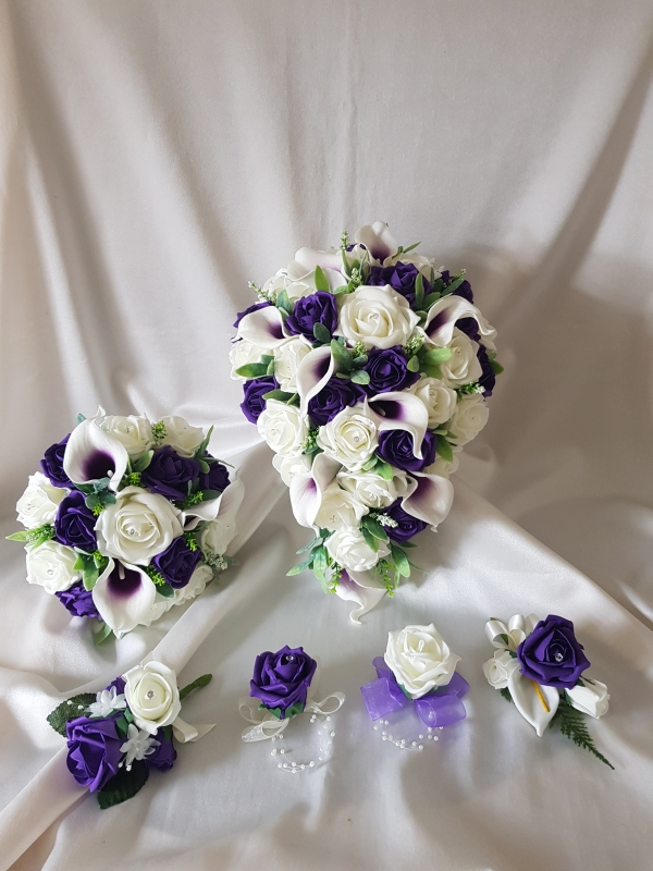 purple-calla-lily-wedding-flower-collection