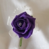 purple-rose-single-buttonhole